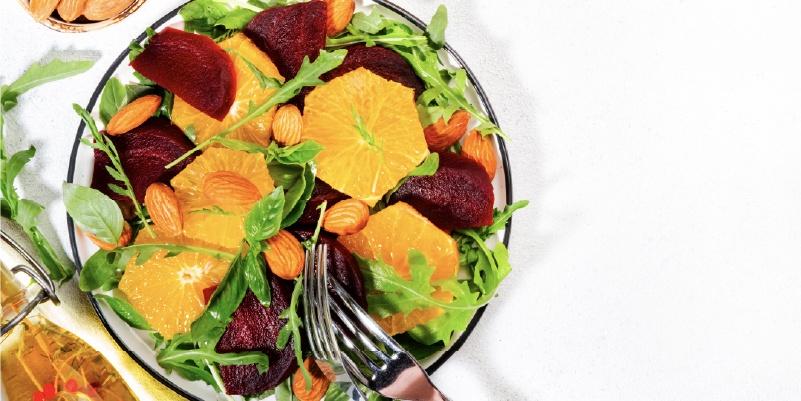 social media service, summer salad